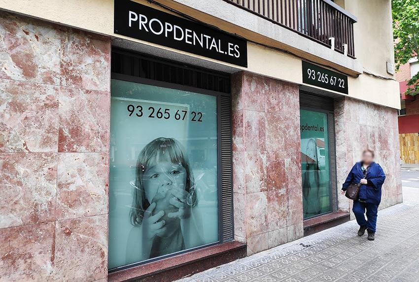 rotular escaparates en Barcelona