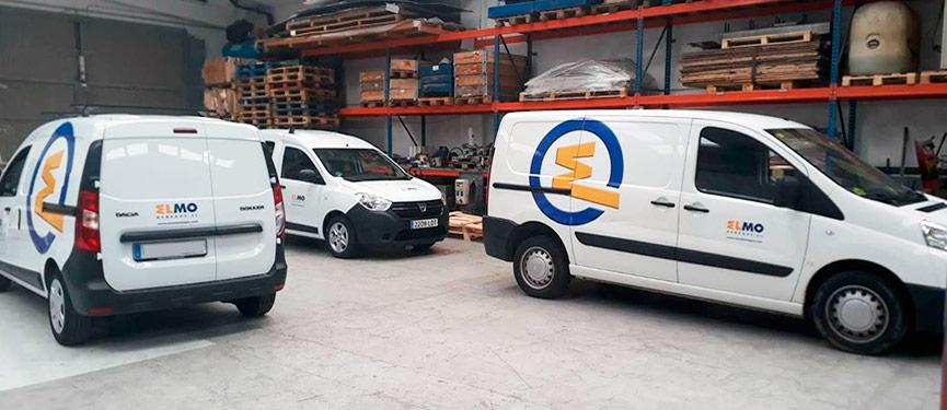 rotulación de flotas de vehículos en Barcelona