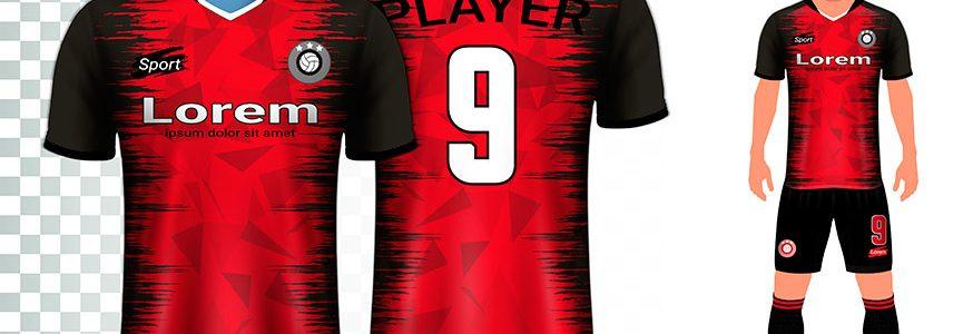 diseño camisetas para equipos de futbol