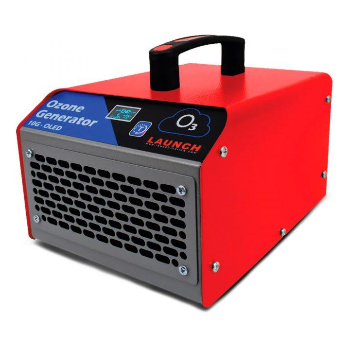 Equipo generador de ozono portátil