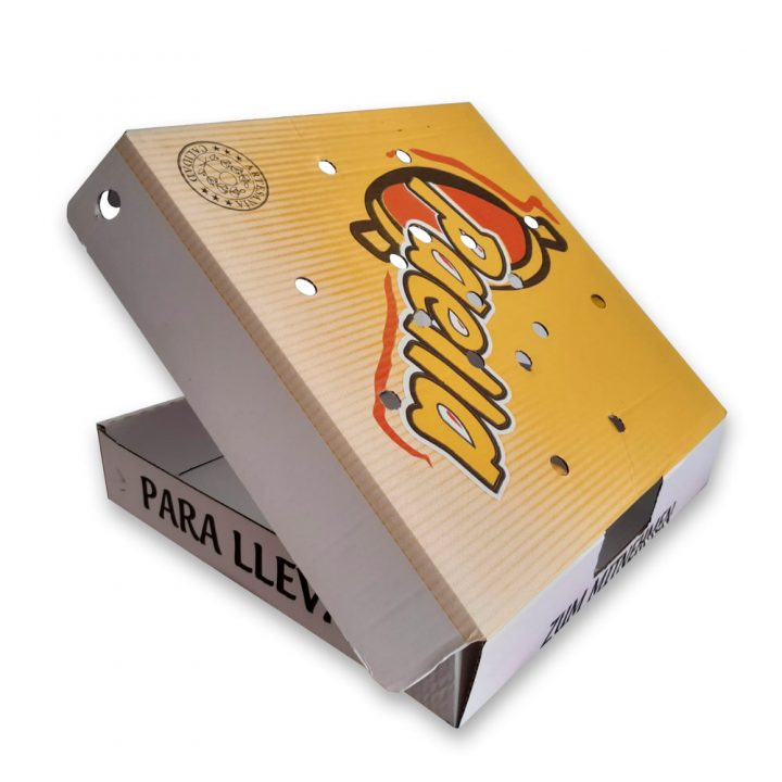Cajas para take away paellas
