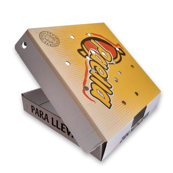 Cajas para take away paellas