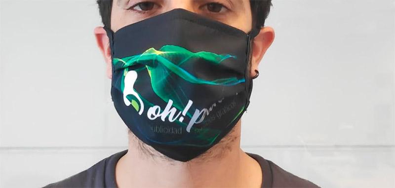 mascarillas higiénicas para empresas con impresión