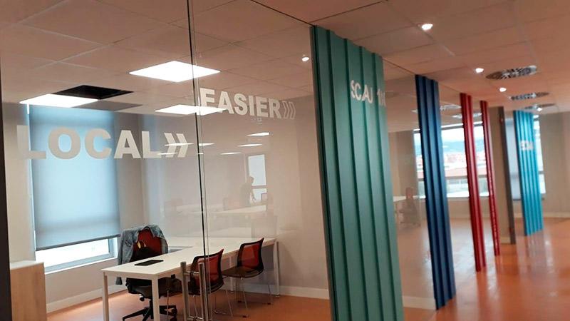 rotular oficinas en Barcelona