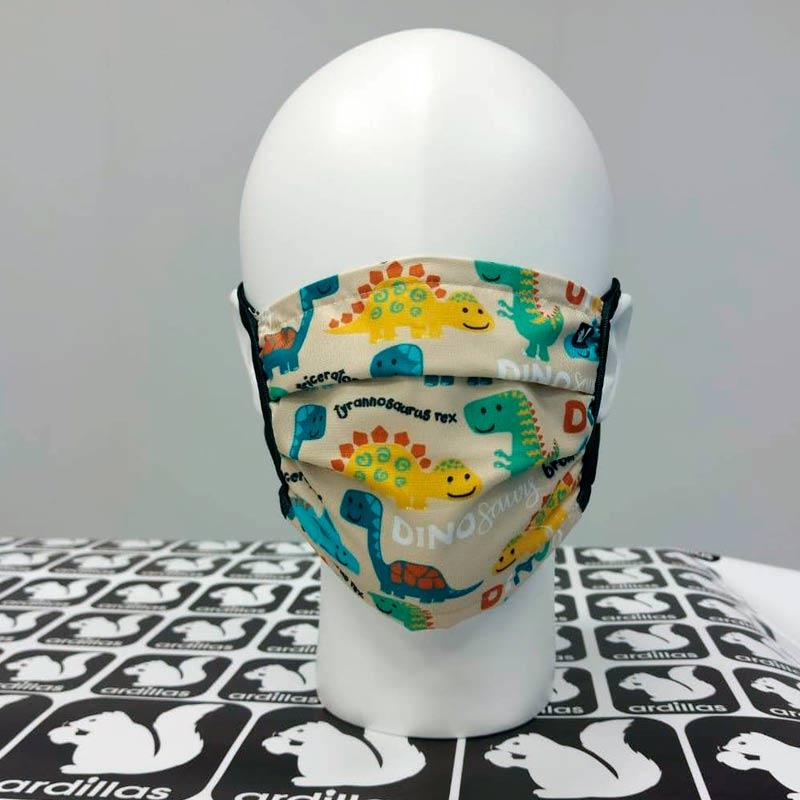 mascarilla personalizada para niños