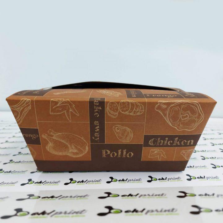 cajas para pollos take away
