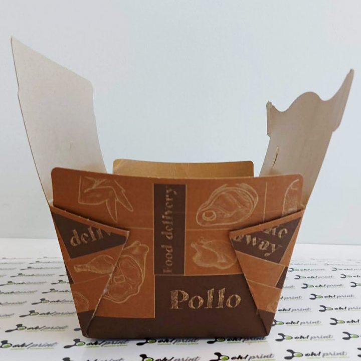 cajas para llevar pollos asados a l'ast
