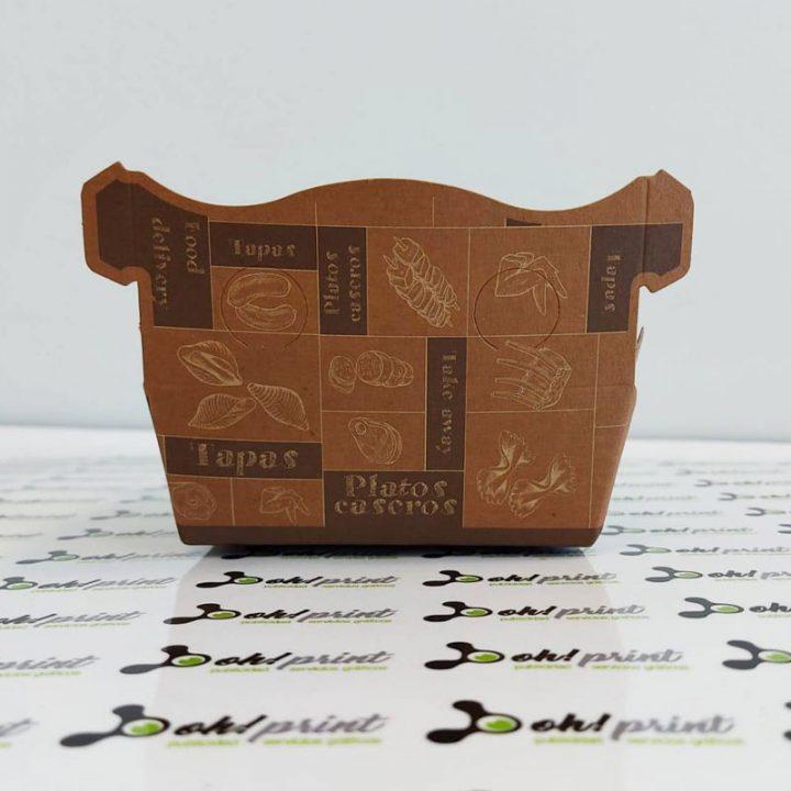 caja ecológica de comida para llevar
