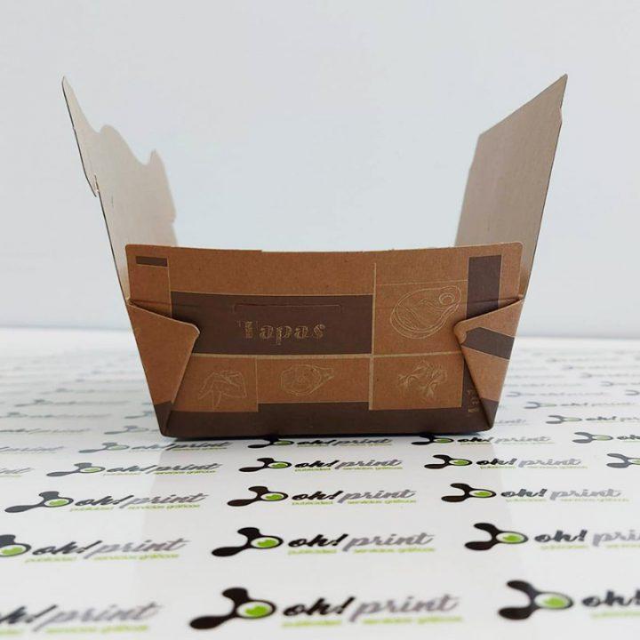 caja de comida para llevar