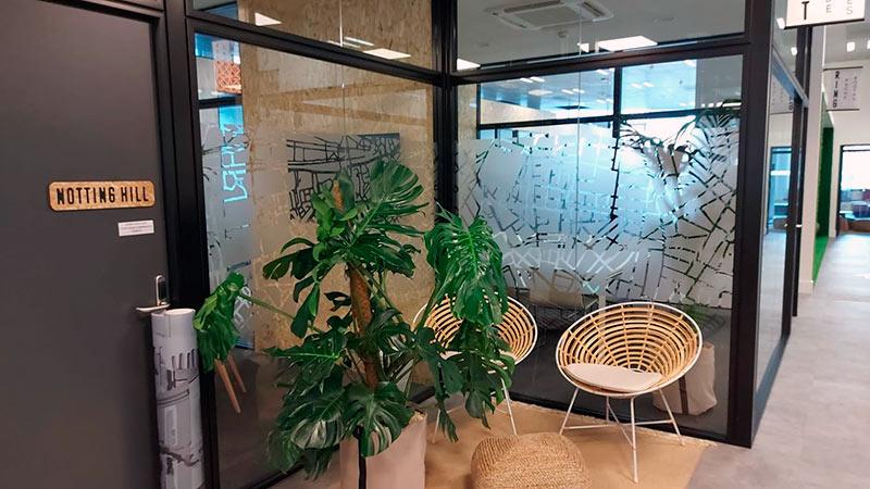 rotulación de oficinas con vinilo