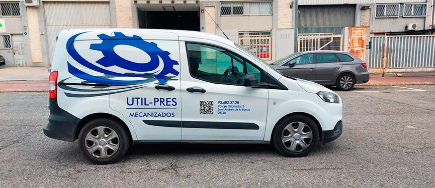 furgoneta rotulada en Martorell