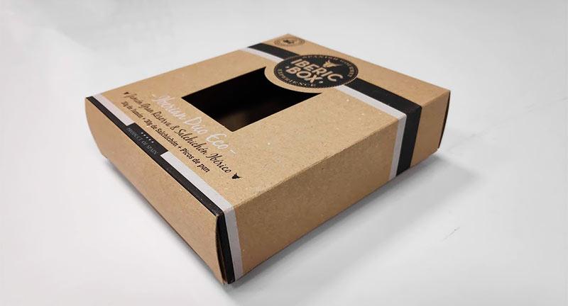 caja envase ecológico alimentación