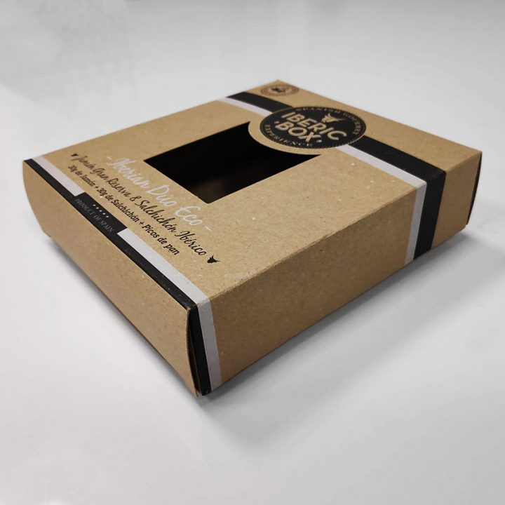 caja ECO envasado embutidos con ventana