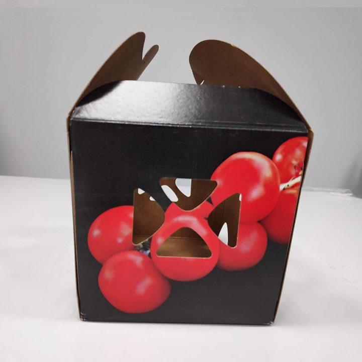 embalaje para tomates
