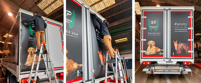 vinilos para camiones
