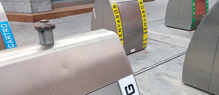 vinilos para contenedores de basura