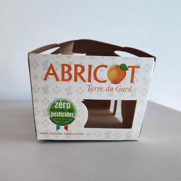 caja ecológica para frutas