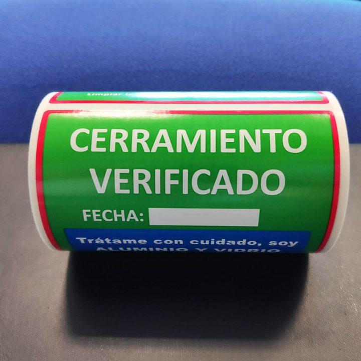 etoqueta adhesiva personalizada a 3 tintas