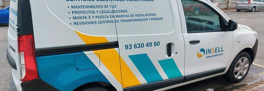 rotulación de furgoneta Dacia Dokker